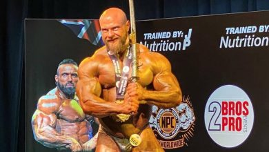 James Hollingshead Wins 2020 British Grand Prix Bodybuilding Show