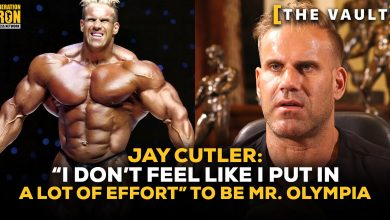 "Jay Cutler: ""I Don't Feel Like I Put In A Lot Of Effort"" To Be Mr. Olympia 